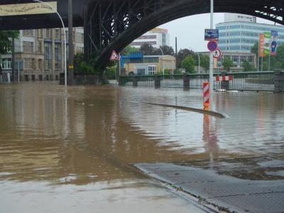 Hochwasser Annaberger Straße