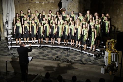Ein buntes und unterhaltsames Programm erwartet die Gäste des Herbstkonzertes. Neben dem Kinder- und Gemischten Chor wird der an der Ostsee so erfolgreiche Frauenchor nochmal Teile dieser Konzertreise vorstellen. Foto: tsc