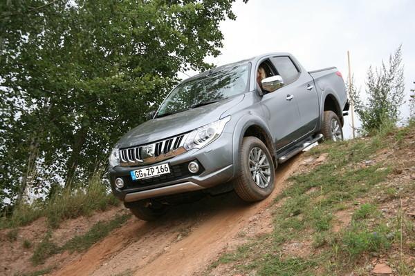 Mitsubishi L200 feiert Premiere in Lugau