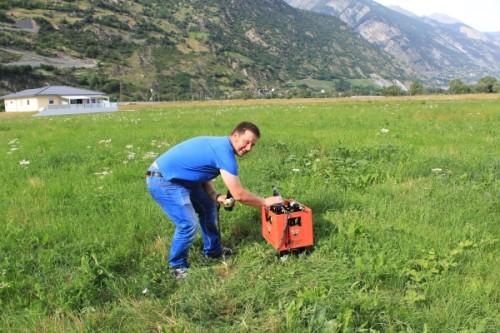 Platz 3: Enrico Heidel in der Schweiz