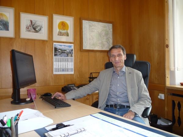 Leere Kassen und Sparmaßnahmen in Flöha bei Oberbürgermeister Volker Holuscha