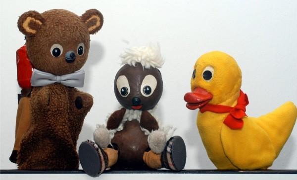 Mischka, Pitti und Schnatterinchen sowie weitere Märchenwaldbewohner kommen am 15. November ins Auer Kulturhaus. Foto:  Show-Express-Könnern
