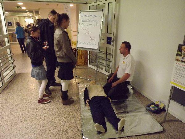 Viel zu erfahren gibt es am 7. November zum Tag der offenen Tür im Diakomed Hartmannsdorf. Foto: Diakomed