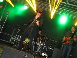 Vize-Udo rockte am Freitag auf dem Hauptmarkt. Foto: Alice Jagals