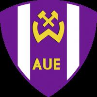 Das Wappen der BSG Wismut von 1963 bis 1990.