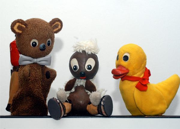 Die Stars aus dem Kinderfernsehen der DDR erfreuen sich nach wie vor großer Beliebtheit. Demnächst startet in der Alten Spinnerei Burgstädt ein neues Programm. Foto: show-express-koennern.de