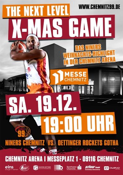 Am kommenden Samstag wird die Messe Chemnitz zur Basketball-Hölle. Foto: Verein