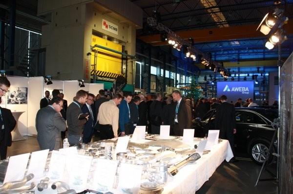 170 Gäste besuchten das Fachsymposium und die Hausmesse bei AWEBA in Aue. Foto: Sven Günther