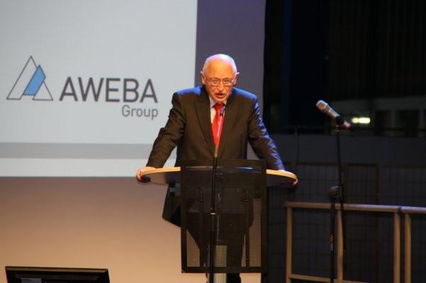 Günter Verheugen während seiner Rede beim Fachsymposium in Aue Foto: Sven Günther