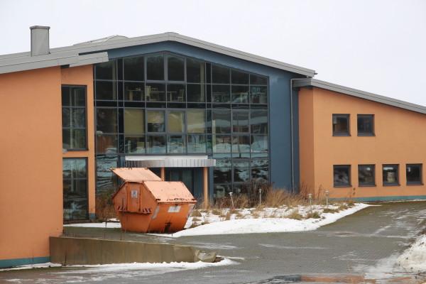 Das ehemalige Gebäude der Firma ro.mann in Schlettau Foto: Mike Päßler