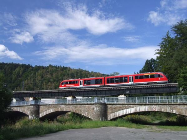 Die Erzgebirgsbahn. Foto: Archiv