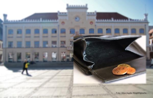 Der Haushalt 2016 ist ebschloss: Zwickau setzte kräftig den Rotstift an.