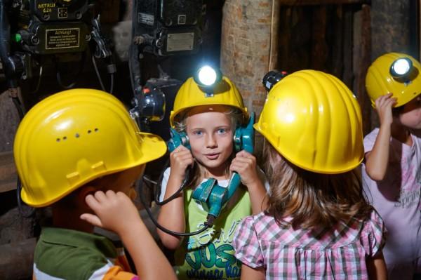 Im Bergbaumuseum Oelsnitz/E. gibt es für Kinder viel zu entdecken. Foto: Lorenz/TVE