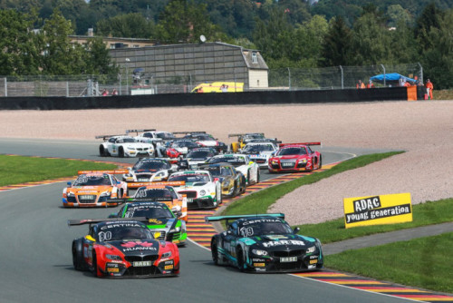Action zur ADAC GT Masters auf dem Sachsenring. In allen Klassen wird es wieder spannende Rennen geben. Foto: ADAC MotorsportFoto: Gruppe C GmbH