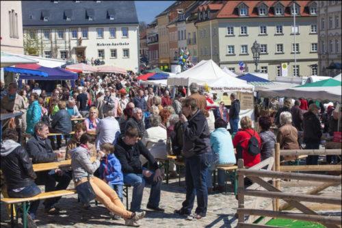 Auf dem Markt und in den angrenzenden Straßen wird jede Menge los sein. Foto: Fotografie Diana Krüger