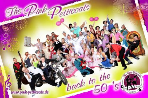 """Ein Highlight ist die musikalische Show von """"The Pink Petticoat. Foto: Gruppe"""