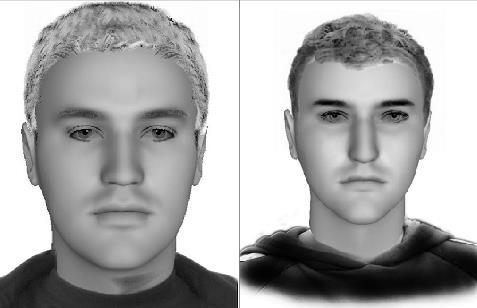 Phantombilder zeigen Serieneinbrecher. Fotos: Polizei