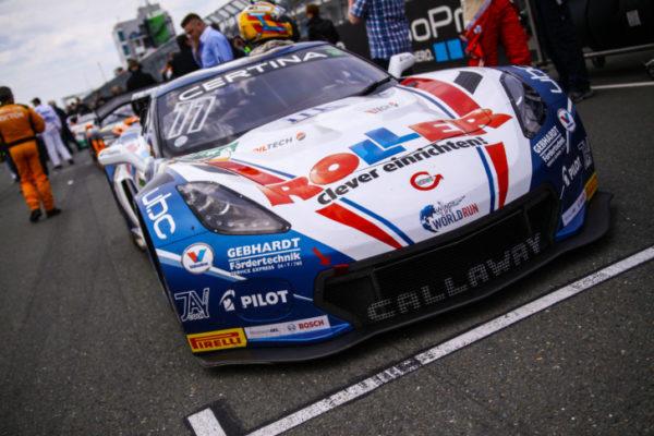 Debütsieg für die neue Corvette C7 GT3 von Jules Gounon undDaniel Keilwitz auf dem Sachsenring am vergangem Wochenende. Foto: Stefan Lorse /Speedemotion.de