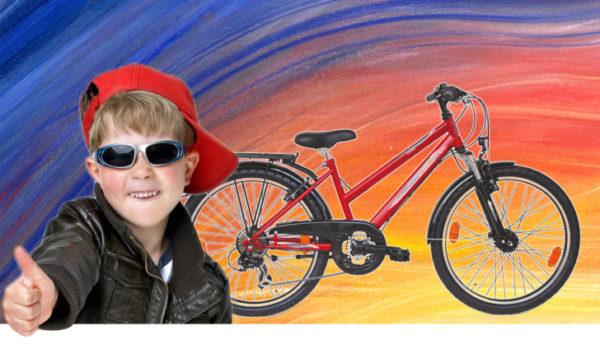 Mitmachen und ein tolles Rad gewonnen (im Bild Beispielrad): WochenENDspiegel und Lucky Bike machen es möglich.