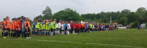 Zu Pringsten rollt in Niederlungwitz das runde Leder. 54 Jugendmannschaften treten an. Foto. Verein