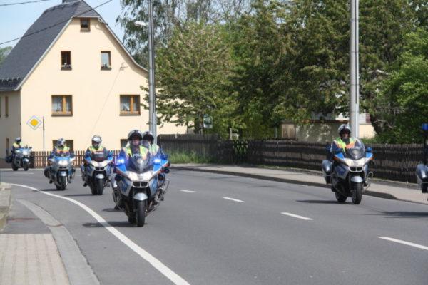 Die 37. Erzgebirgsrundfahrt am 22. Mai 2016. Der Kurs führte auch durch die Gemeinde Eppendorf. Fotos: Constanze Lenk