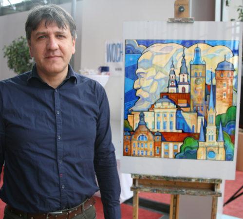 Er war der Favorit der Jury: Yaroslav Kurbanov. Doch welches Werk begeistert Euch am meisten? Foto: Cindy Haase