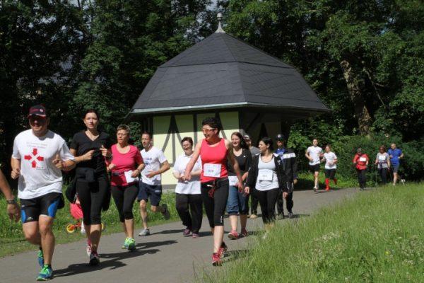 Am Samstagmorgen startete der 2. Werdauer Benflitz. Foto: Alice Jagals