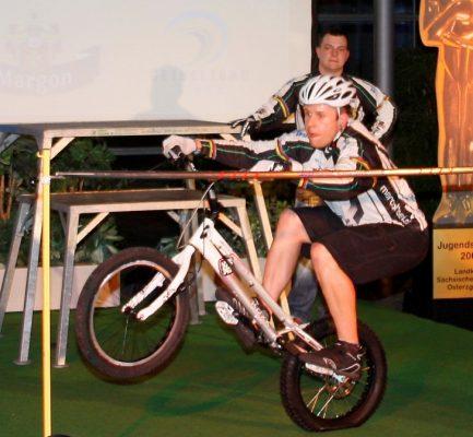 Weltmeister Marco Hosel in Aktion. Foto: Daniel Förster