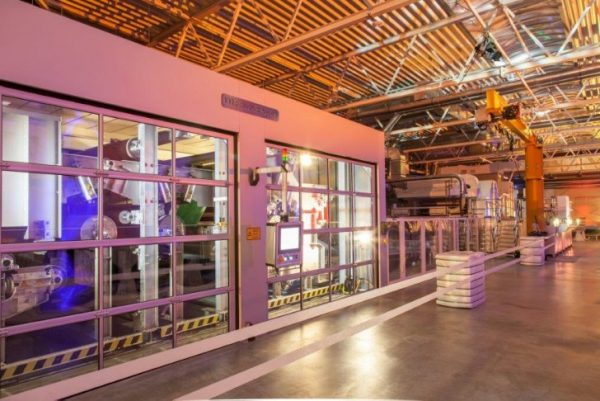 Wie bei Norafin in Mildenau setzten die Firmen der ostdeutschen Textil-Industrie auf High-Tech. Foto: Norafin
