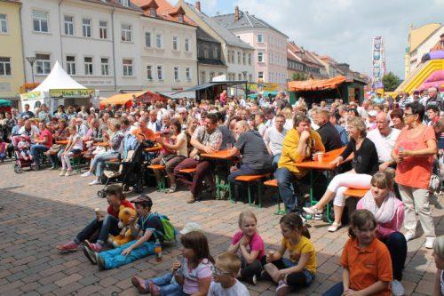 Das Stadtfest ist jedes Jahr ein Besuchermagnet. Das wird auch bei der diesjährigen Auflage nicht anders sein. Foto: Uwe Wolf