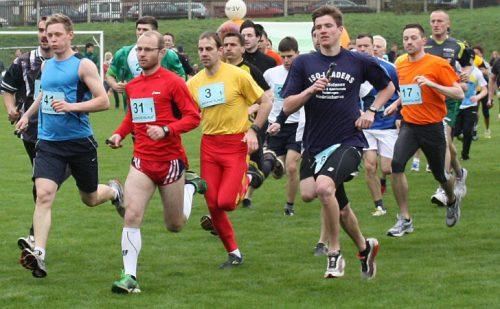 Im August steight der Wüstenbrander Heidelberglauf. Für Läufer wie diese ist die Veranstaltung fast schon ein Muss. Foto: Uwe Wolf