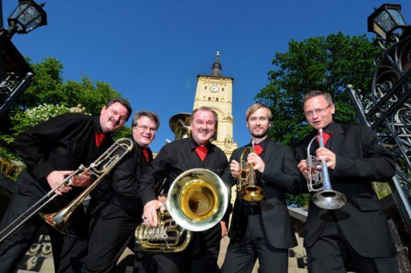 Die Musiker von C-Brass freuen sich auf zahlreiche Konzertbesucher. Foto: C-Brass