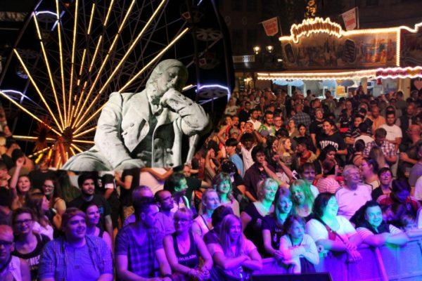 Etwa 140.000 Besucher kamen zum Stadtfest in die Schumann-Stadt. Foto/ Montage: Alice Jagals