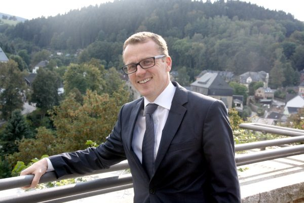 Alexander Krauß wirde zum Kandidaten für die Bundestagswahl 2017 nominiert. Foto: H.-J. Schwochow