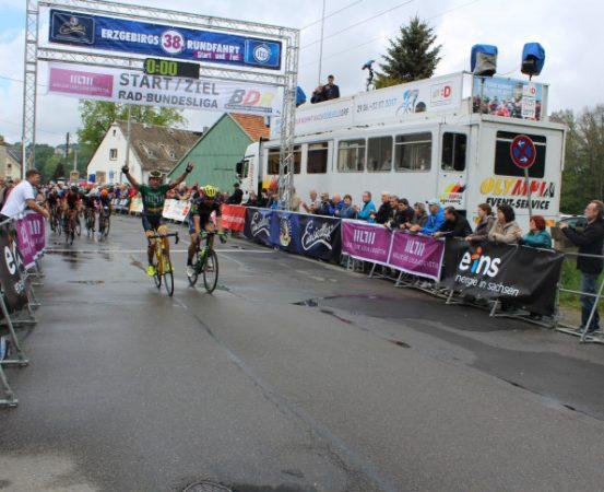 Raphael Freienstein überfuhr schon im letzten Jahr als Erster die Ziellinie. Foto: Nicole Neubert