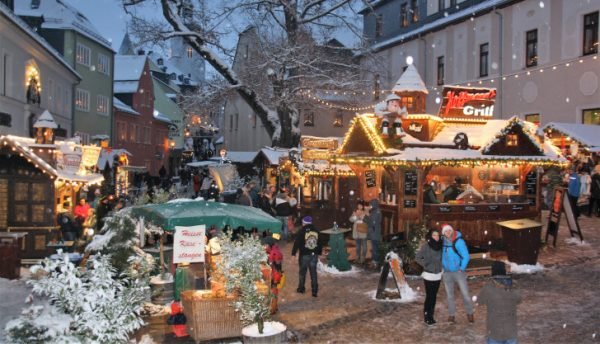 Weihnachtsmarkt Schwarzenberg.Große Bergparade In Schwarzenberg Wochenendspiegel